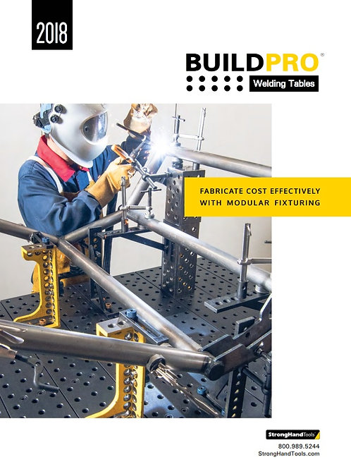 BuildPro Welding Tables Product Catalog