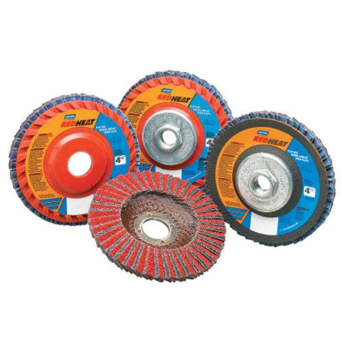 "4-1/2"" Flap Disc, Type 27, 7/8"" Mounting Hole, Medium, Ceramic, 1 EA"