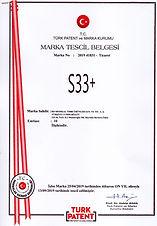 S33 + TRADEMARK