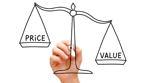 Weighing out price and value