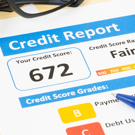 Understanding and raising your credit score