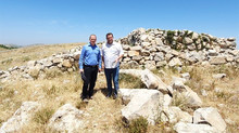 PA damages site of Joshua's altar