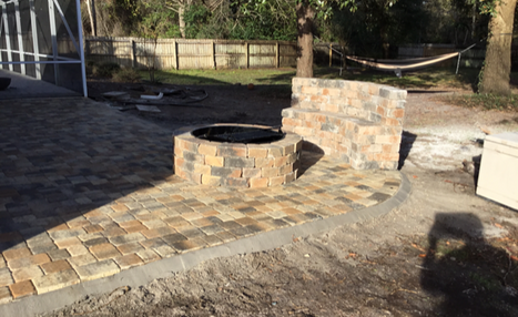 Paved Sitting Area