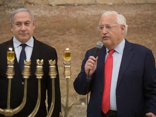 Ambassador David Friedman: 'We left the Middle East in good shape'