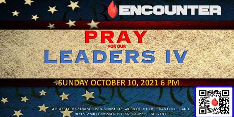 Pray for Our Leaders - Hosted by Matt Buff