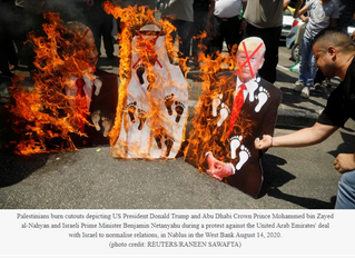 Palestinians fume over Israel-UAE deal