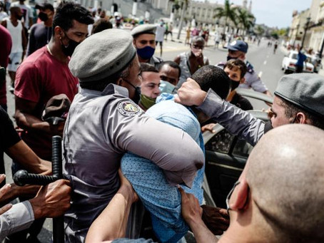 Cuban Authorities Cut Off Internet Sites and Social Media Following Mass Protests