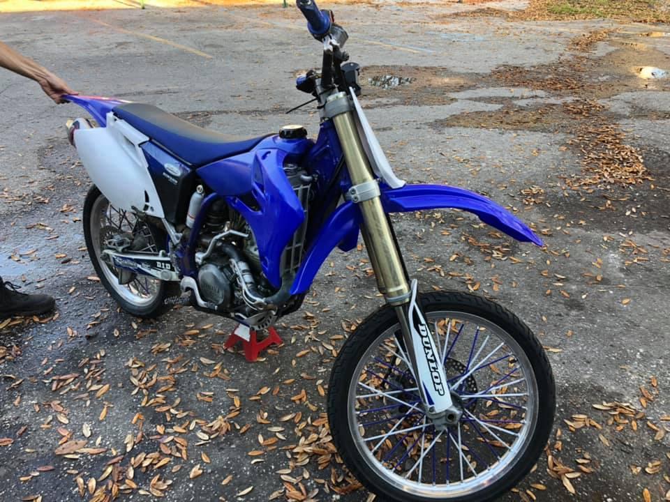 2004 YAMAHA YZ450F
