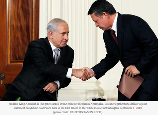 Israel and Jordan sign historic airspace agreement