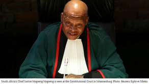 'I Would Rather Cease to be Chief Justice': Top South African Judge Reiterates Refusal to Apologize