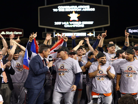 The 2017 Astros Stole Signs and the 2020 Democrats Stole Votes