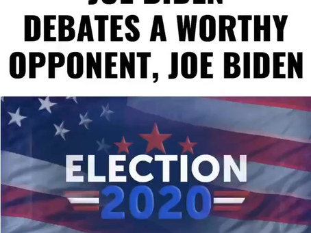 Biden Debates....Biden