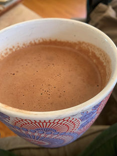 Healthy Hot Cocoa Loaded with all the Fat! GF, DF