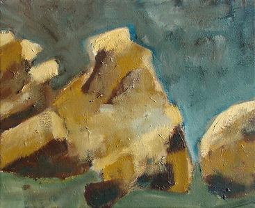 Nuno Bastos, Rochas III pintura