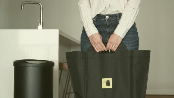 Reusable garbage bag