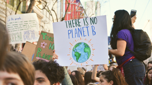 Climate change strike