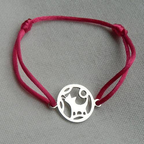 """Bracelet Mangetsu """"Chat"""""""
