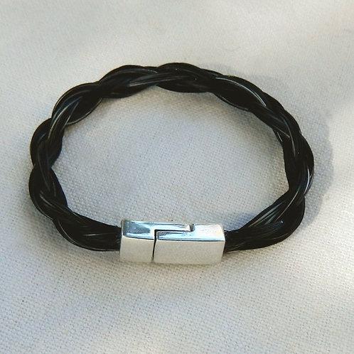 Bracelet encrin de cheval ( avec un fermoir aimanté )