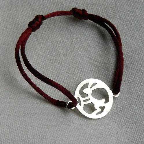 "Bracelet Mangetsu ""Lapin"""