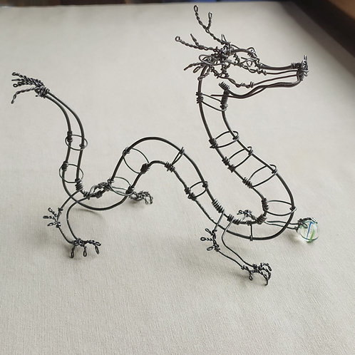 """""""Dragon"""" en fil"""