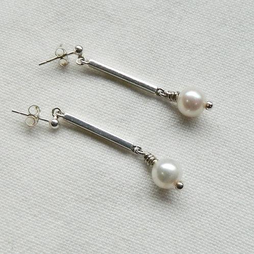 "Boucles d'oreilles Hôseki ""Perles"""