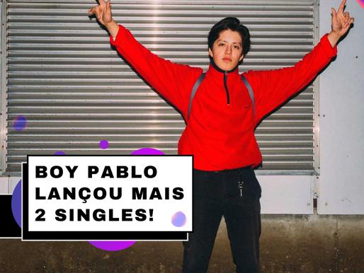 Boy Pablo Lançou mais 2 Singles! Assista aqui - Honey e JD's