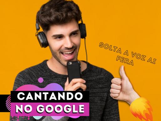 Google irá permitir que usuários cantem para encontrar músicas
