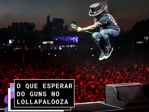 O que esperar do Guns N' Roses       no Lollapalooza?