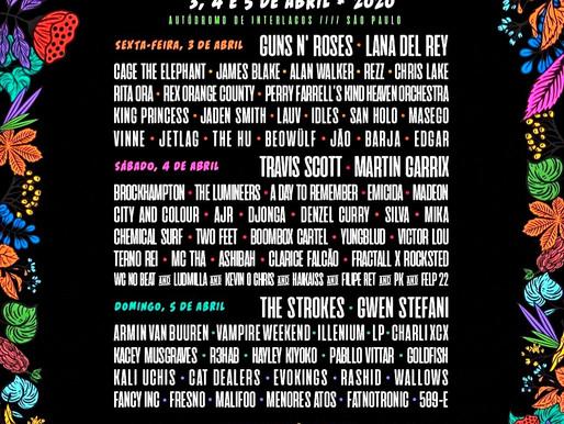 Lollapalooza divulga artistas de cada dia do festival!
