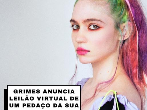 Grimes anuncia leilão virtual de um pedaço da sua alma