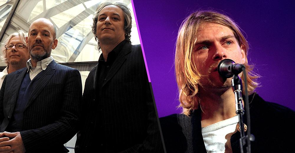 R.E.M. Lança nova versão de música feita em homenagem a Kurt Cobain!