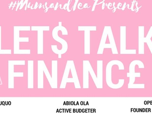 MUMMYS MAKING MONEY: LET'S TALK FINANCE - 19/1/19