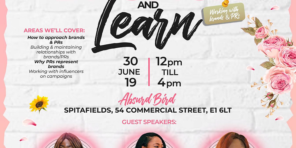 Girls In Power: Brunch & Learn - Working with Brands & PRs