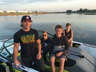 Water Ski Champ Gives Lessons in Saskatoon