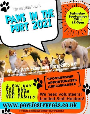 paws in the port 2021 Poster.JPG