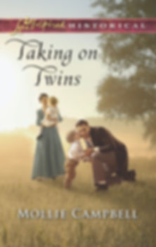 Taking on Twins, Historical Inspirational Fiction by Mollie Campbell