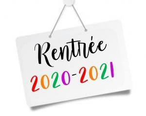 Reprise des cours 2020