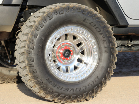 NEW SHOES FOR THE WRANGLER AND XJ: COOPER DISCOVERER STT PRO TIRES