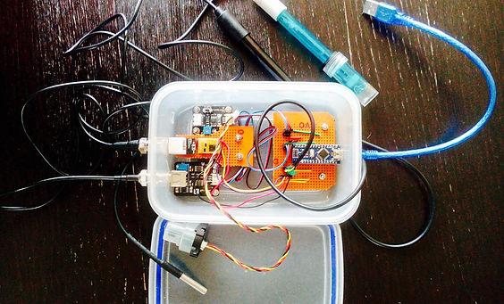 DIY Arduino Water Testing Kit PuntSeq