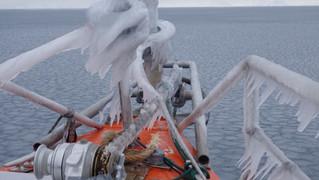Charly relate de ses aventures au grand Nord à bord de Knut