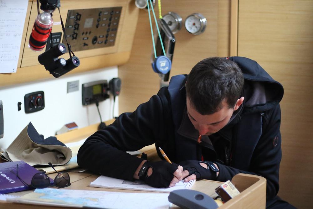 Préparation de la nav! ©Gentian Kadrijaj