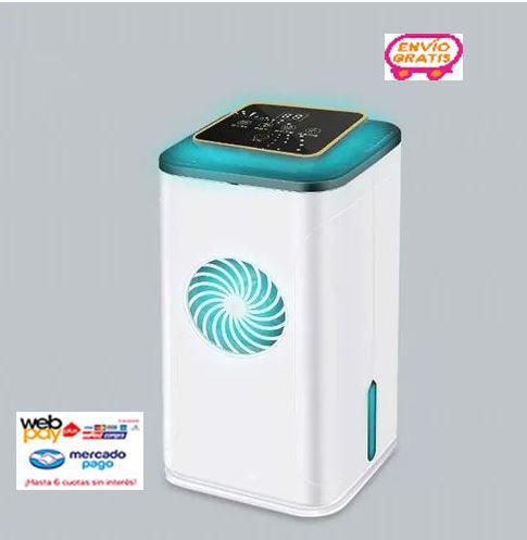 Purificador Aire Generador Ozono Uv Hepa Desinfecta 99.9