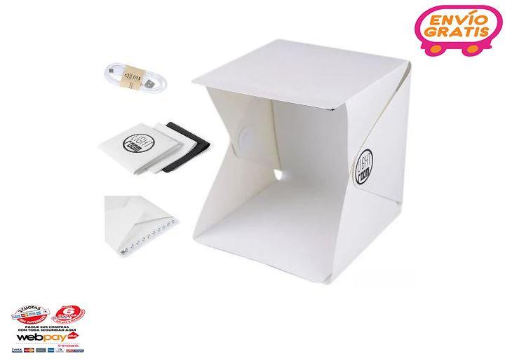 Lightroom Mini Estudio Caja Luz Fotografia Usb Led / Pix
