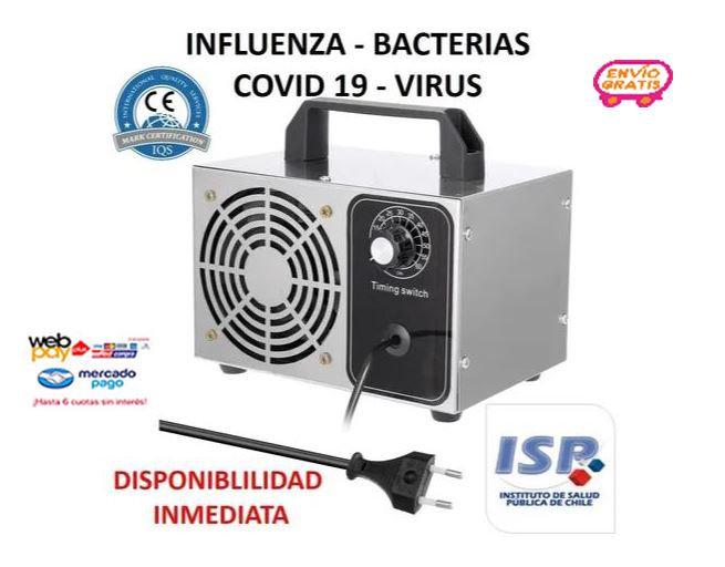 Generador De Ozono Industrial 28g Inox Purifica Desinfecta
