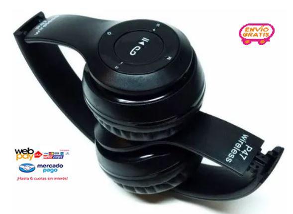 Audifonos Bluetooth P47 Stereo Radio Mp3 Inalambricos