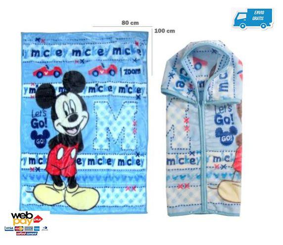 Saco C/broche Mickey Celes 3139mkc