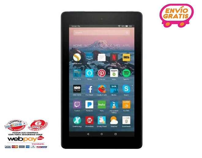 Tablet Amazon Fire 7' 2019 Quad Core 16gb