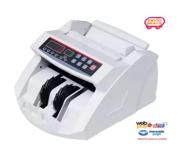 Maquina de Contar Billetes Detecta Falsos SKU172