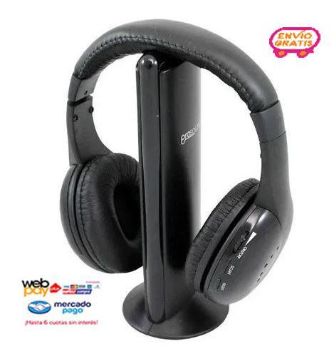 Auricular Para Tv Inalámbrico Prosound 27prop5000 Evzpro