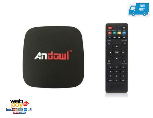 Andowl Android Tv Box Lite 4k 2gb Ram 16gb Rom Android 9.0